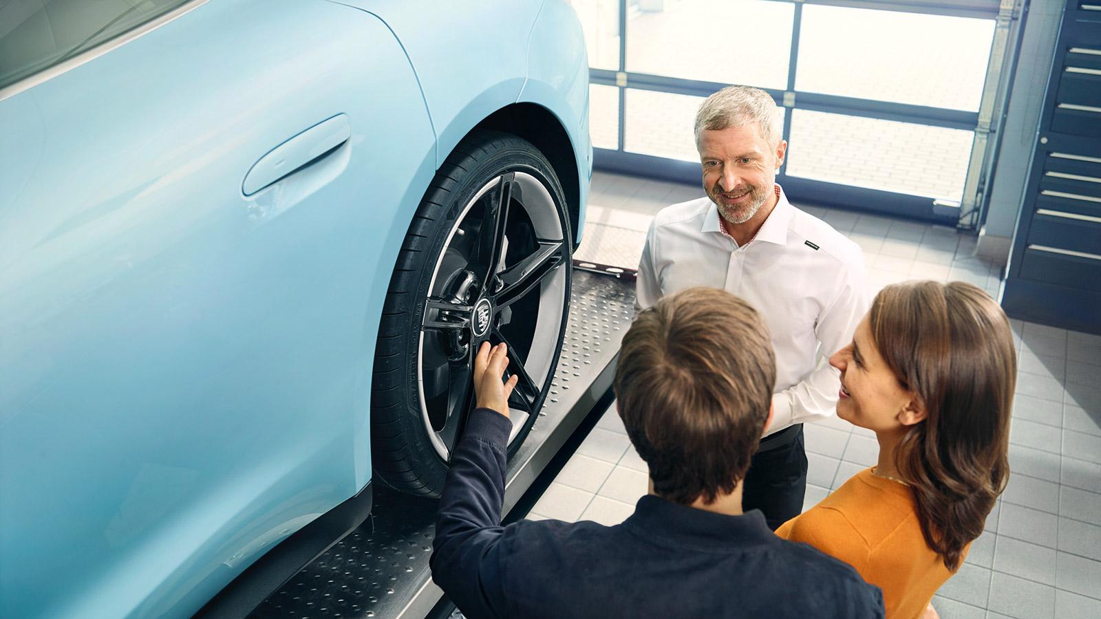 Porsche Live Check. Знакомство с сервисной станцией