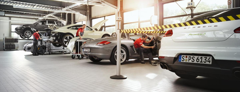 Porsche - Maintenance & Wear