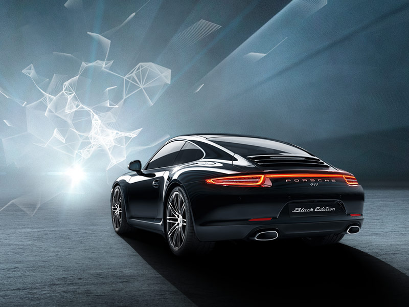 Porsche 911 Carrera 4 Black Edition - Interactive Microsite