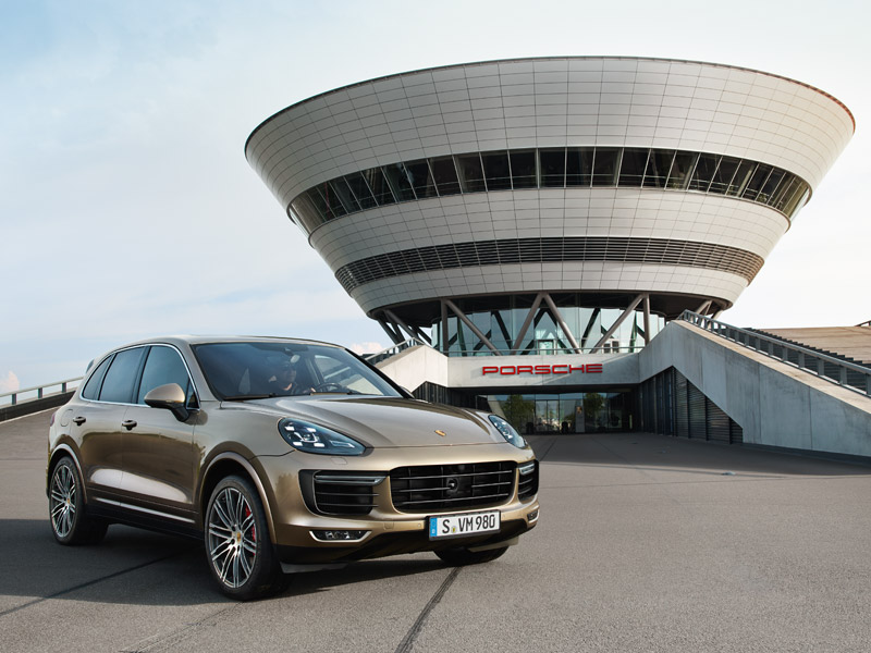 Porsche Cayenne Turbo - Webspecial