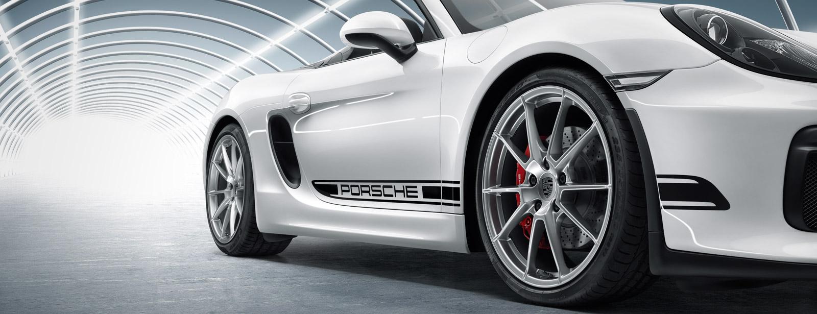 Porsche Motorsport Dekorklebeset Und Seitlicher