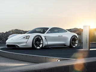 Porsche - Concept Study Mission E. Tribute to tomorrow.
