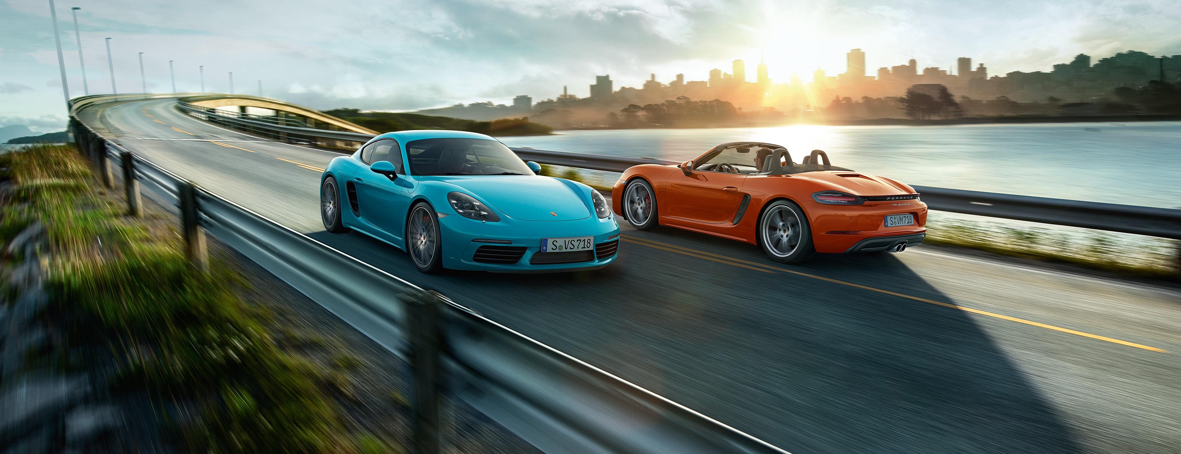 Nowe Porsche 718 Cayman.