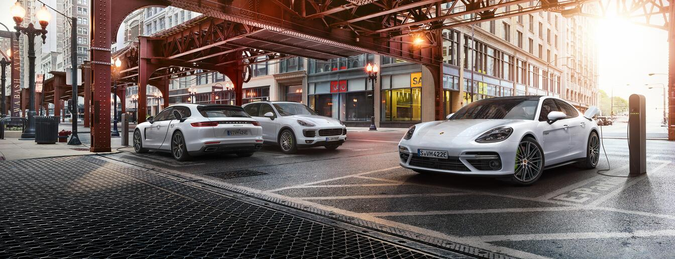 Direction: Future. - Porsche E-Performance.