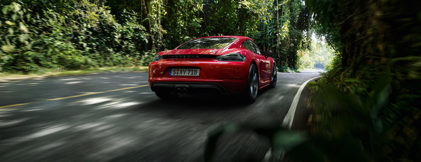 Porsche - Insatiable. - The new 718 GTS models.