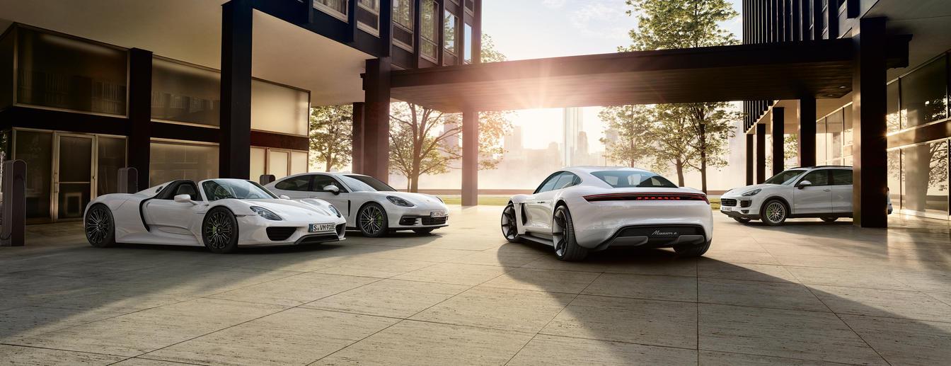 Direction: Future. - Porsche E-Performance.