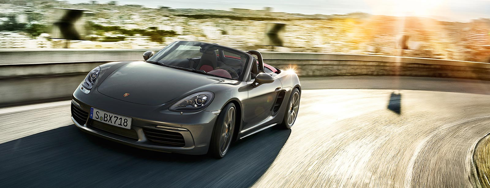 Porsche - For the sport of it. - The new 718 Boxster.