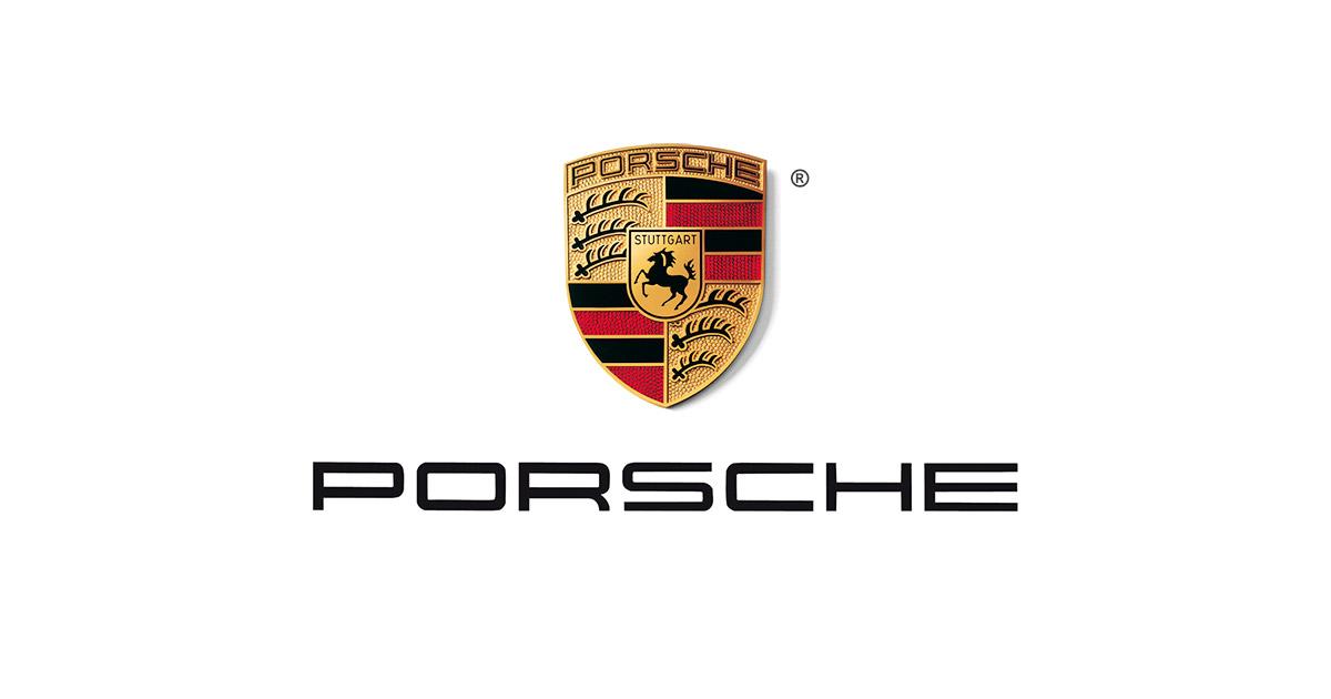 Per PORSCHE 993 Carrera 4s Argento//Grigio Logo Emblema NUOVO