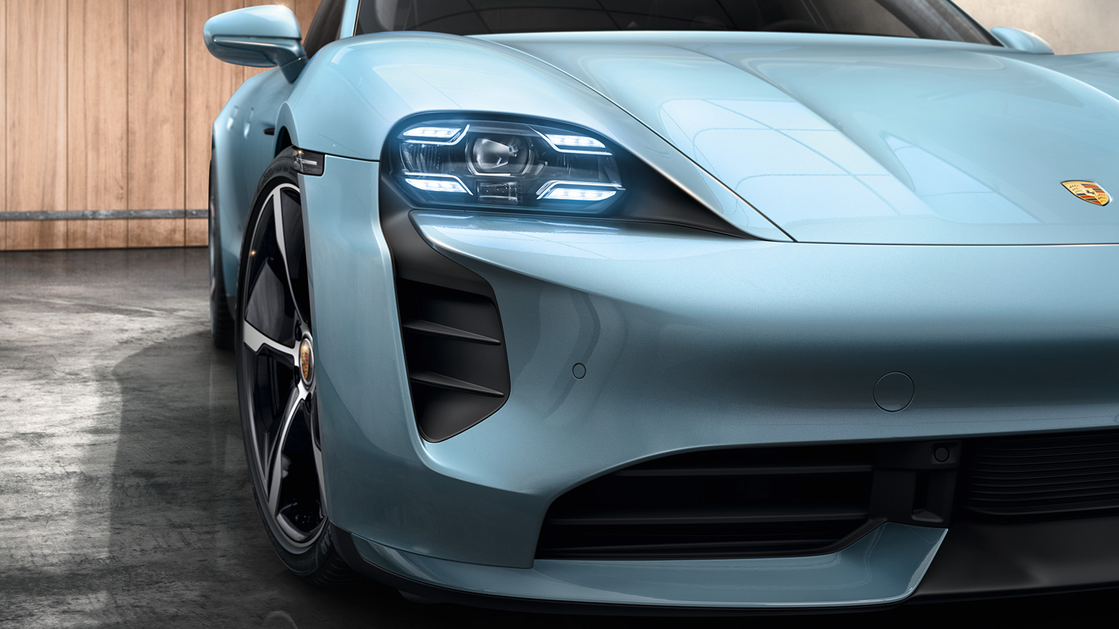 Porsche - Faros delanteros y luces traseras