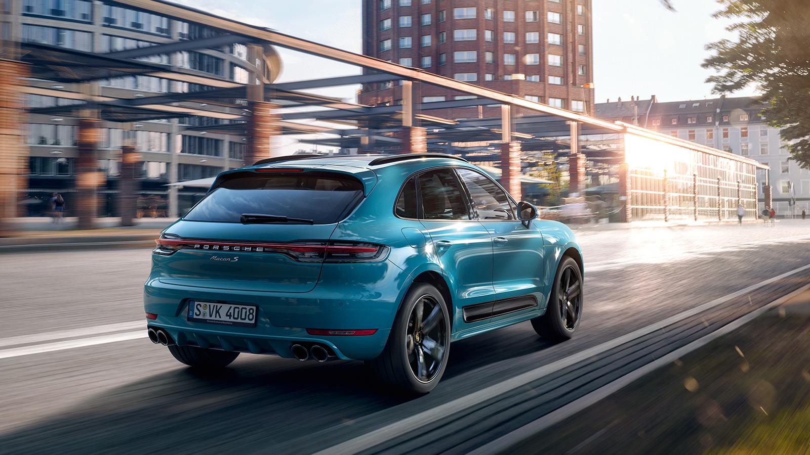 Porsche - Extérieur et performances