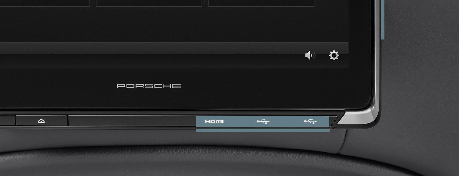 porsche rear seat entertainment porsche usa. Black Bedroom Furniture Sets. Home Design Ideas