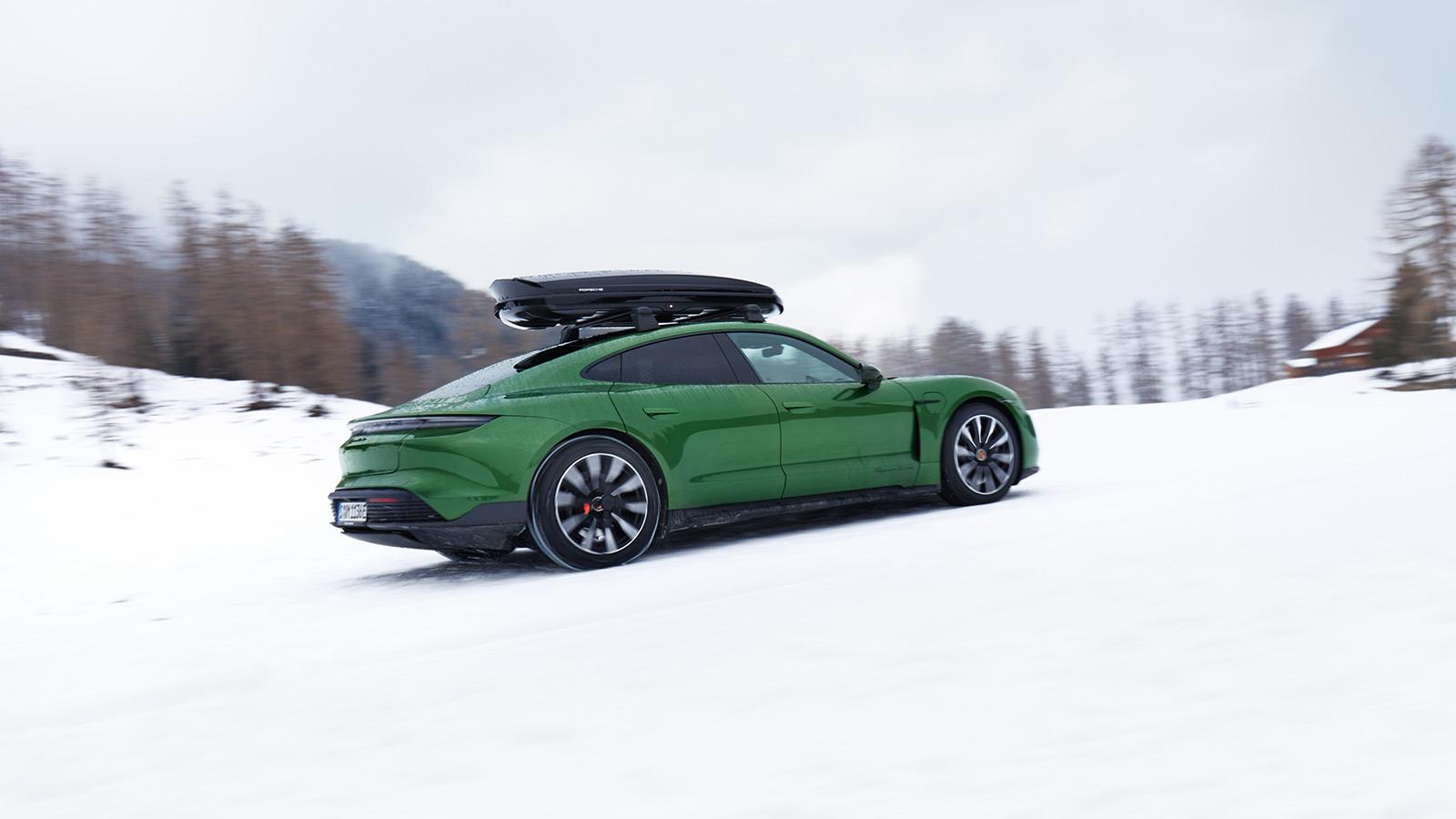 Porsche - ... à quel moment il est temps de passer aux pneus hiver?