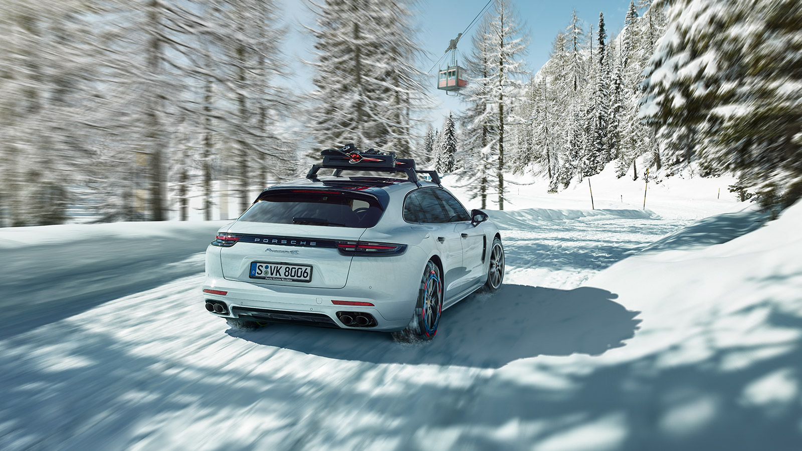 Porsche - ...ウインタータイヤの使用時期