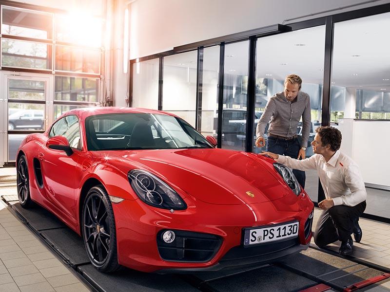 Porsche Service producten - De Porsche Aankoopkeuring
