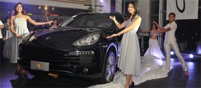 Porsche News Events The New Porsche Cayenne Models Unveiled At Porsche Centre Philippines Porsche Asia Pacific