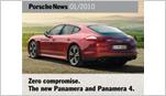 Porsche News Brochure -  News 01/2010