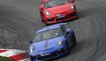 Porsche Profil - Lizenzfrei