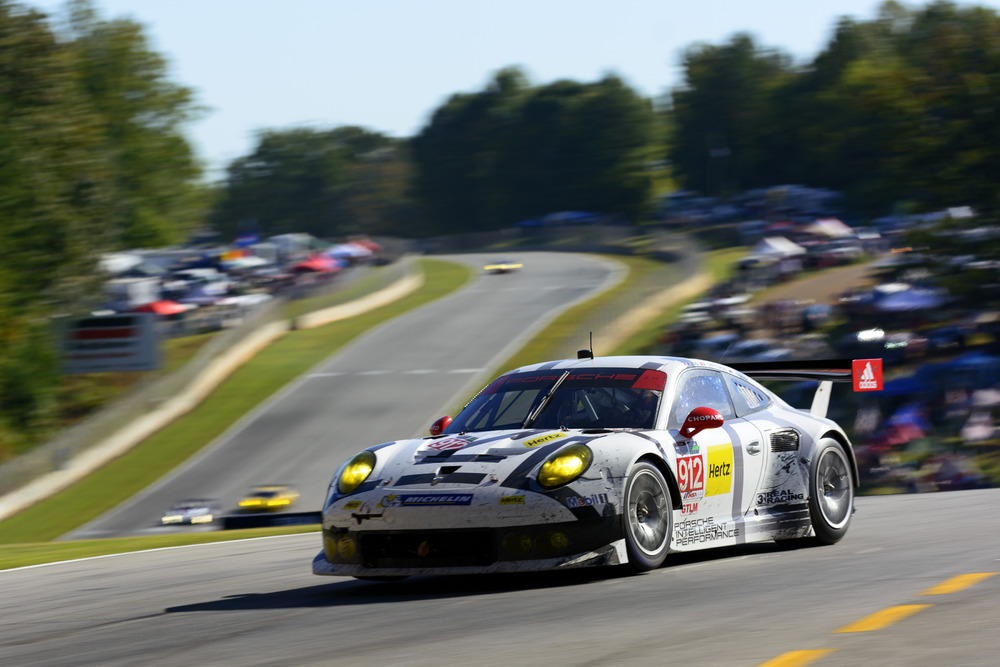 Porsche Ag Earl Bamber Flies From Finale To Finale