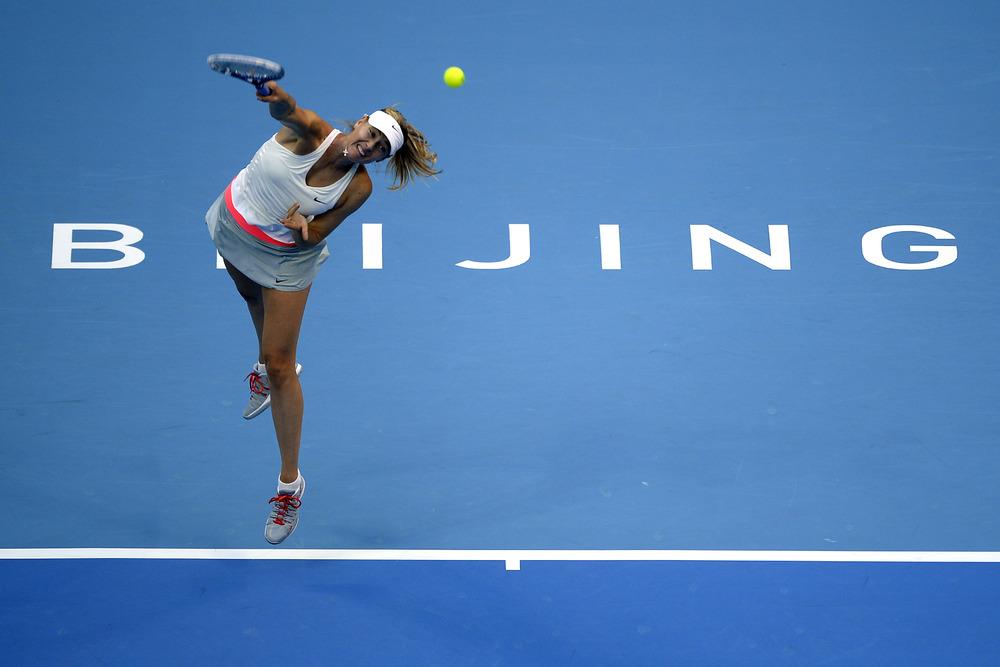 Porsche Ag Maria Sharapova Wins The China Open In Beijing