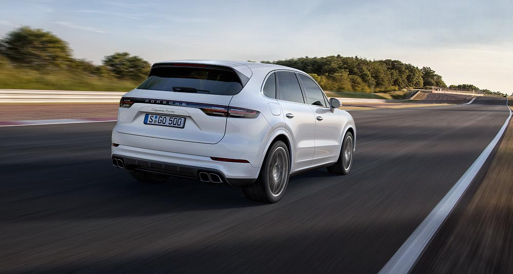 Porsche Ag Even More In An Suv The New Porsche Cayenne Turbo