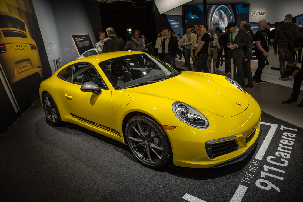 Porsche AG World Premiere Of Four Sports Cars US Debut Of The - Current sports cars