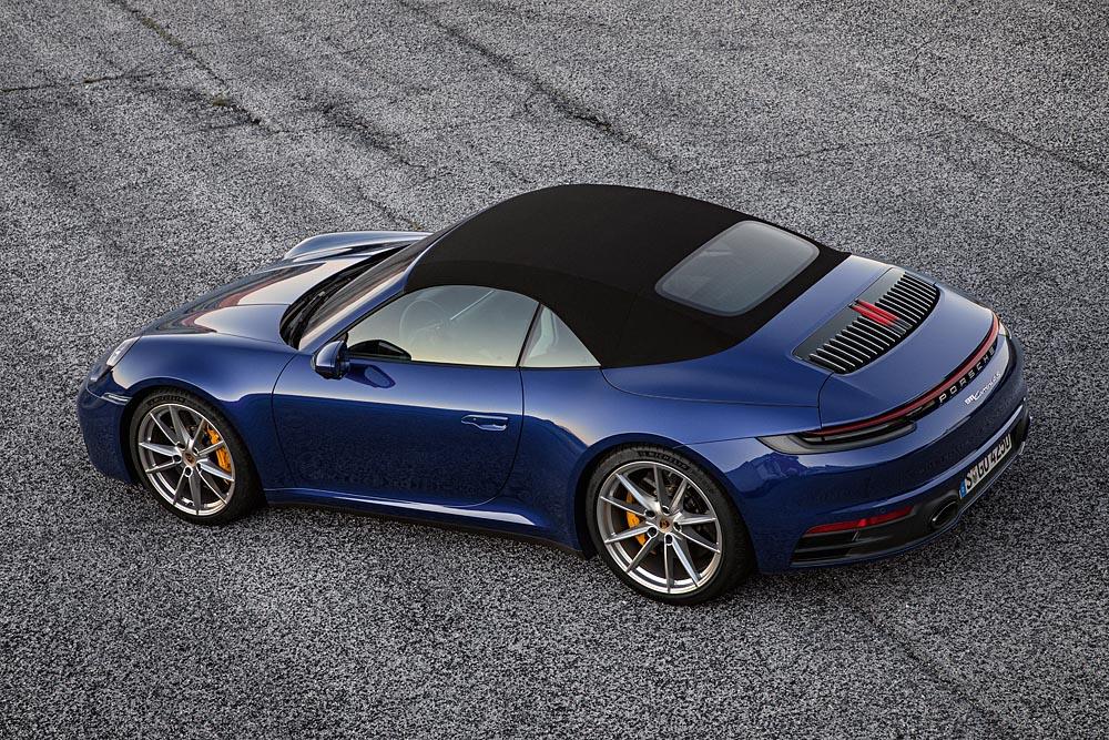 Porsche Newsroom Notas De Prensa All Set For Open Top Season The New 911 Cabriolet Porsche America Latina