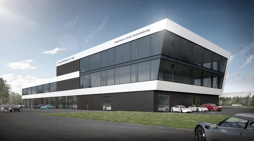 Porsche Experience Center >> Porsche Press Releases Topping Out Ceremony For Porsche