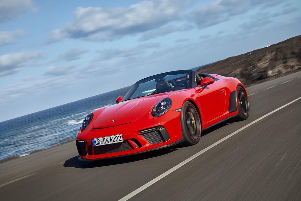 Porsche Press Releases New 911 Speedster Goes Into