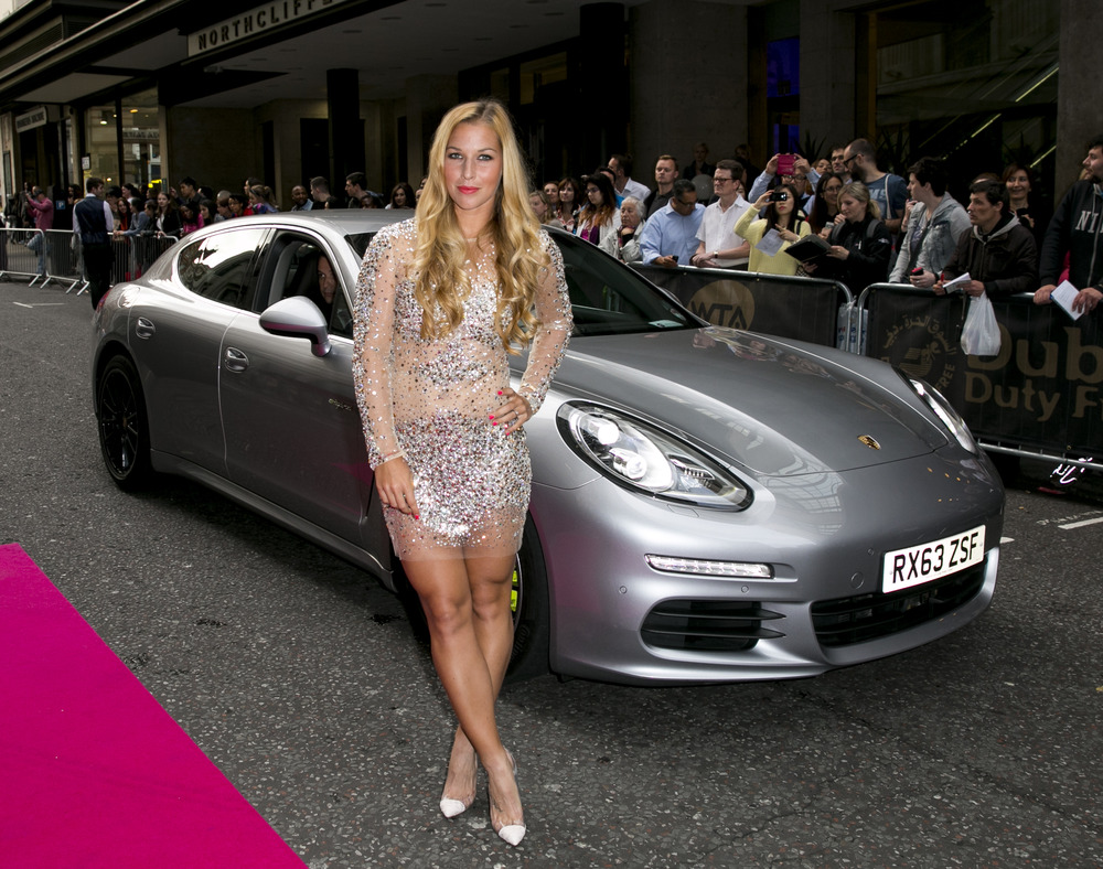 Porsche France Maria Sharapova Driven To Pre Wimbledon