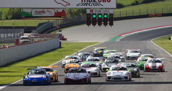 Porsche Sports Cup Suisse, 2020, Mugello