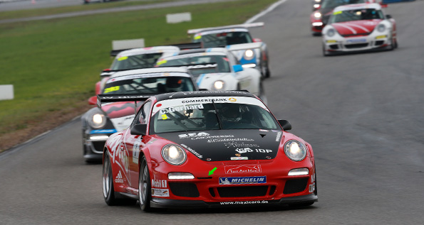 Rennaction im Porsche Super Sports Cup