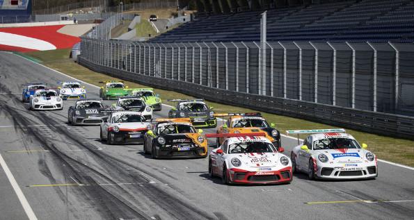 Porsche Sprint Challenge Suisse: GT3 Cup; Spielberg
