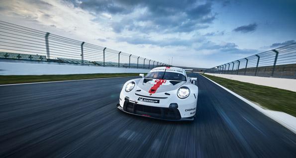 The new Porsche 911 RSR (2019)