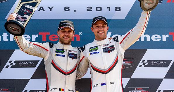 Porsche GT Team: Laurens Vanthoor, Earl Bamber