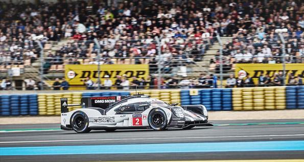 Porsche 919 Hybrid, Porsche Team: Dumas, Jani, Lieb