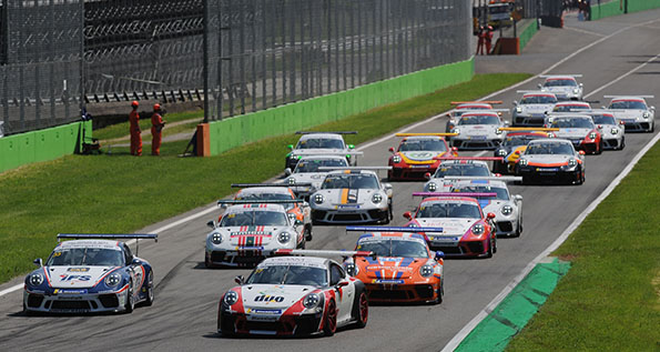 Porsche Carrera Cup Great Britain - Monza 2018