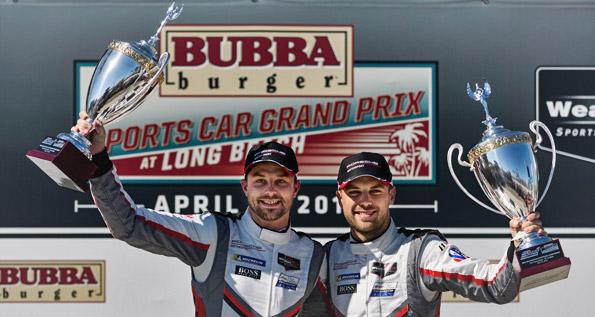 Porsche GT Team: Earl Bamber, Laurens Vanthoor