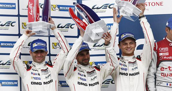 Porsche Team: Dumas, Jani, Lieb