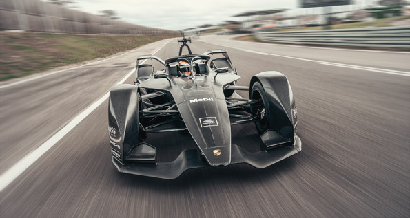 Porsche, Formula E, car, Neel Jani, rollout
