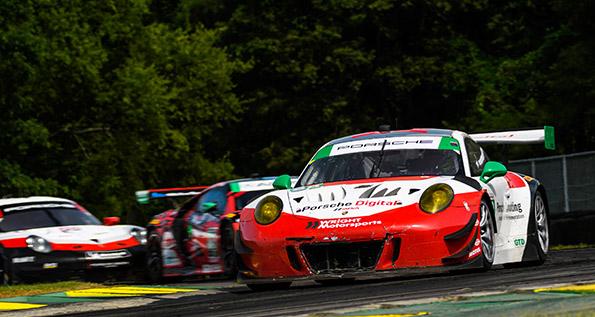 Porsche 911 GT3 R (58), Wright Motorsports