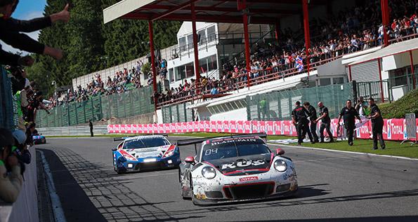 Porsche 911 GT3 R - KÜS Team75 Bernhard