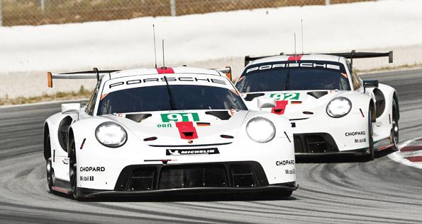 Porsche 911 RSR, Porsche GT Team (91, 92)