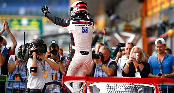 Dennis Olsen, Porsche Mobil 1 Supercup Spa 2017