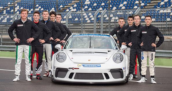 Porsche Motorsport Junior Programme Lausitzring 2017