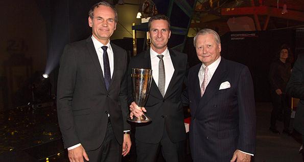 Porsche Cup 2017: O. Blume, C. Ried, Dr. W. Porsche