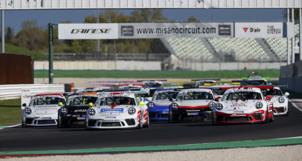 Porsche Sports Cup Suisse, 2020, Misano