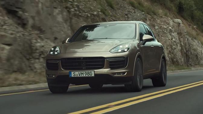 Porsche - Fahrzeugbedienung Cayenne