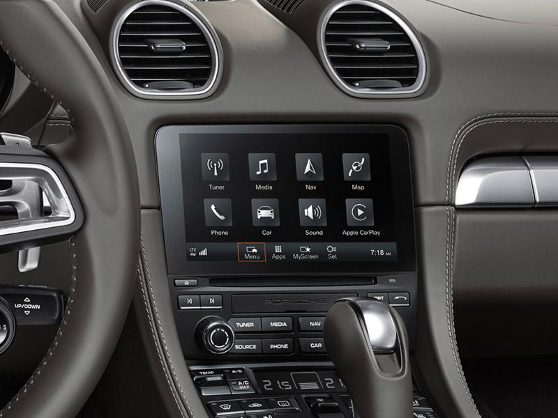 Porsche The new 718 Boxster - The new Porsche Communication Management (PCM)