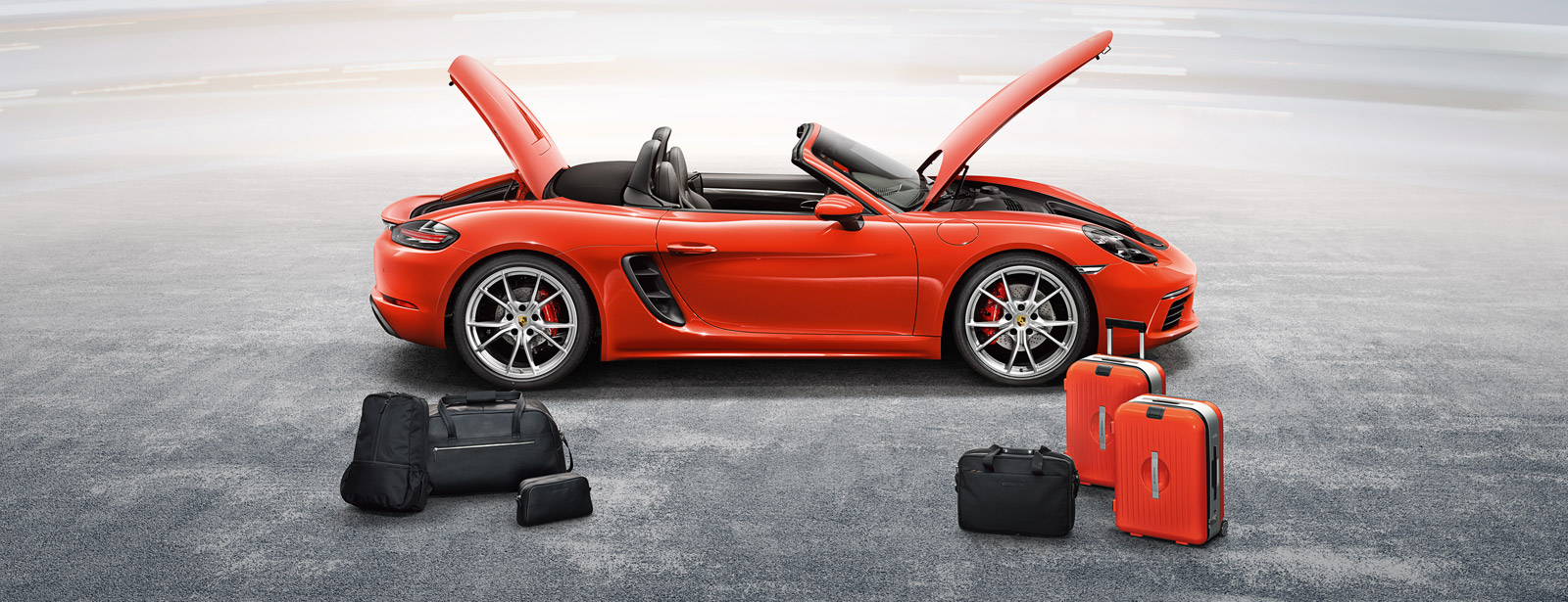 Porsche 718 Cayman S Luggage Compartments And Storage Solutions Porsche Middle East