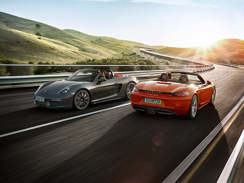 Porsche The new 718 Boxster - Character 718 Boxster